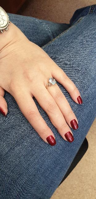 Потрясающее кольцо. Подарок от мужа к 8 марта.Завершающая покупка комплекта