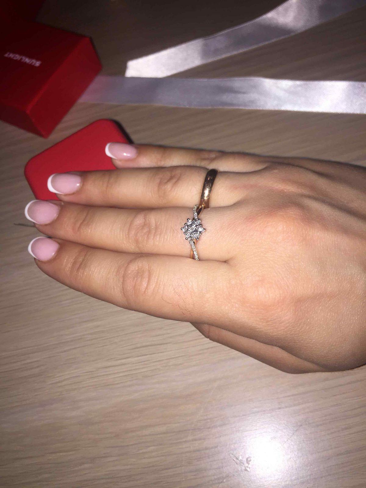 Идеальное кольцо,безумно красивое ..