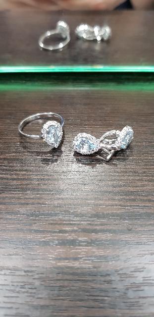 Волшебное кольцо с топазом