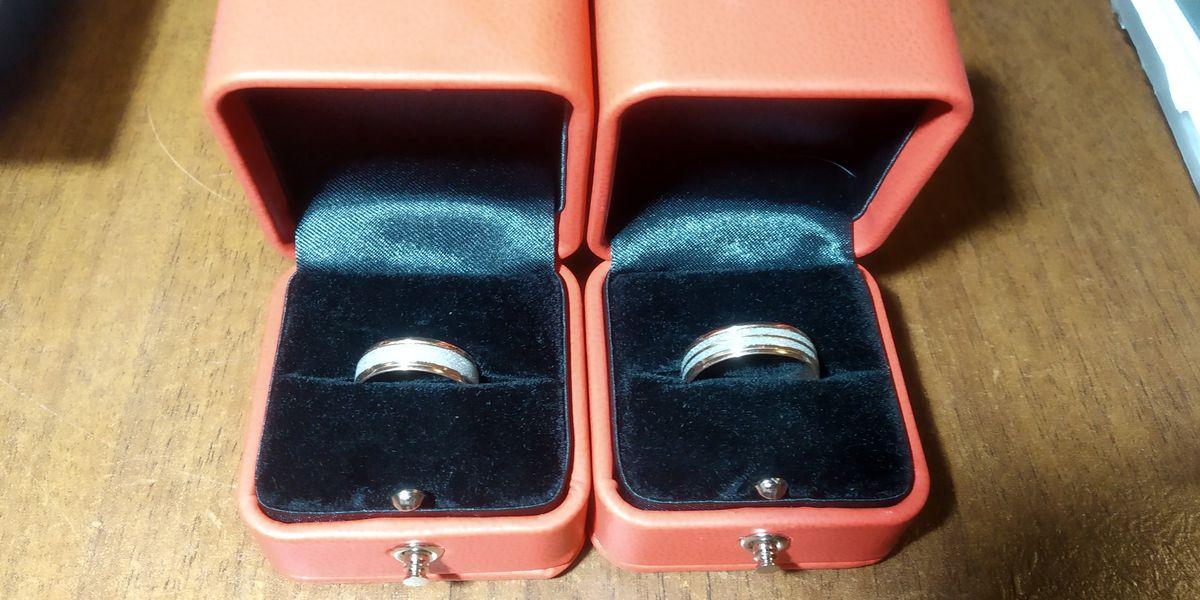 Оригинальное обручальное кольцо!